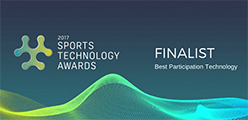 2017 Sports Technology Awards Finalist - Best Participation Technology
